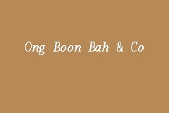 Ong Boon Bah & Co business logo picture