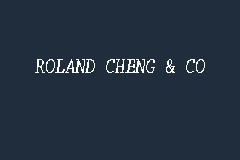 ROLAND CHENG & CO business logo picture