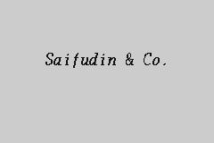 Saifudin & Co , Company Auditor in Brickfields