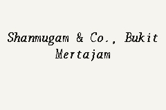 Shanmugam & Co., Bukit Mertajam business logo picture