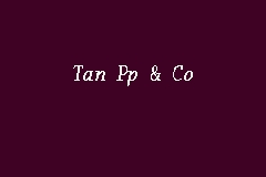 Tan Pp & Co business logo picture