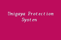 Unigaya Protection System business logo picture