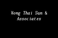 Wong Thai Sun Associates Independent Auditor In Georgetown