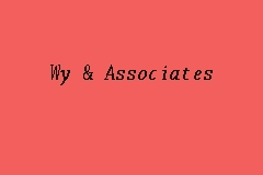 Wy & Associates business logo picture