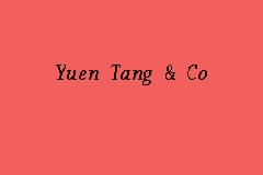 Yuen Tang Independent Auditor In Kl City