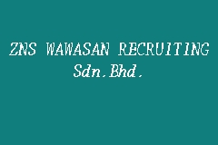 ZNS WAWASAN RECRUITING Sdn.Bhd. business logo picture
